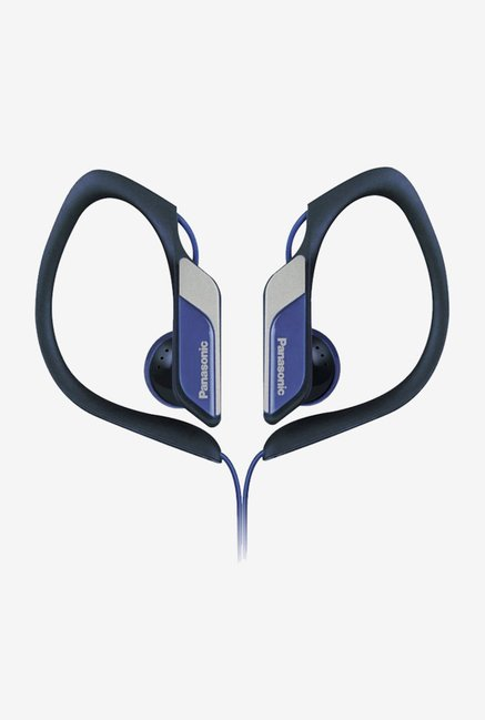 Panasonic RP-HS34E-A In The Ear Headphones (Blue)