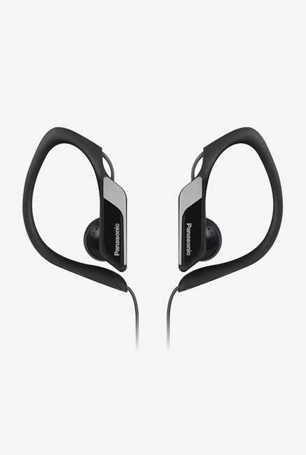 Panasonic RP-HS34E-K In The Ear Headphones (Black)