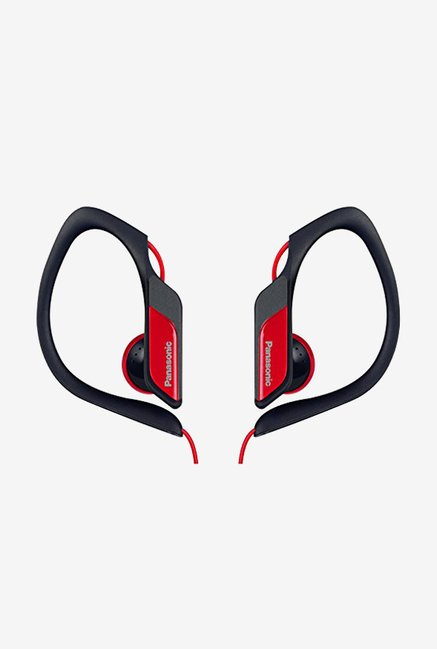 Panasonic RP-HS34E-R In The Ear Headphones (Red)