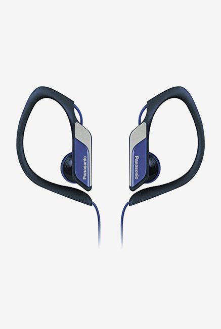 Panasonic RP-HS34ME-A In The Ear Headphones (Blue)