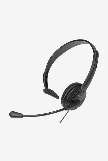 Panasonic RP-TCA400E-K On The Ear Headphones (Black)