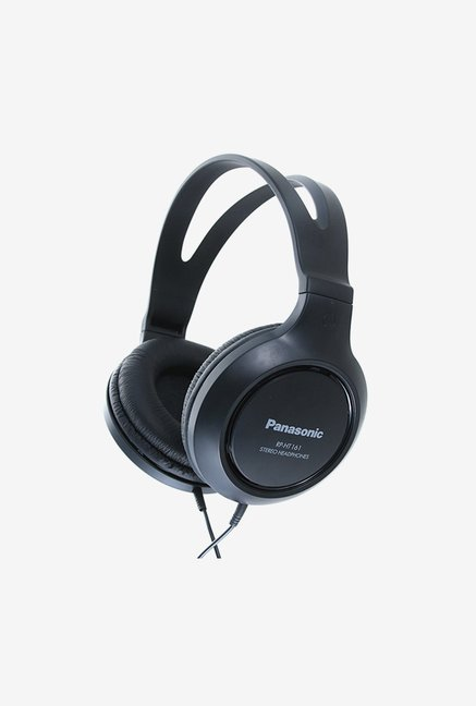 Panasonic RP-HT161E-K Over The Ear Headphones (Black)