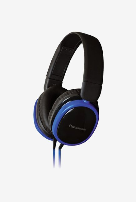 Panasonic RP-HX250ME-A Over The Ear Headphones (Blue)