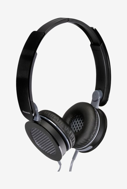 Panasonic RP-HXS200E-K On The Ear Headphones (Black)