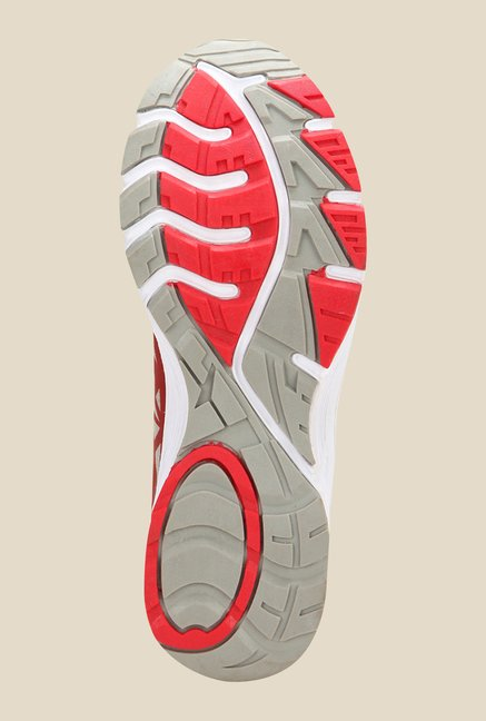 Yepme Grey & Red Running Shoes