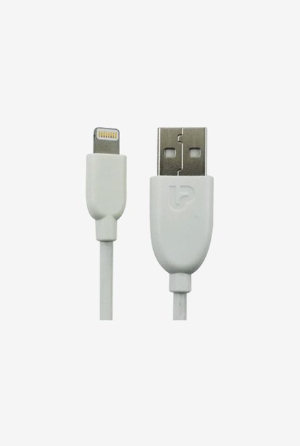ULTRAPROLINK UL348W-0100 1M Lightning Cable (White)
