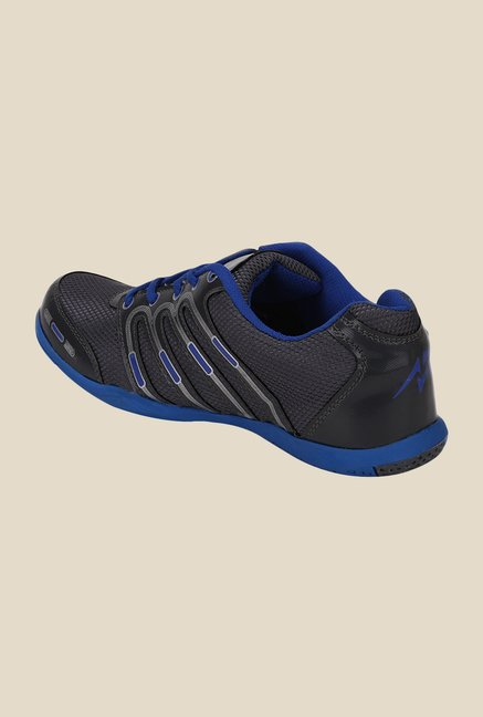 Yepme Black & Blue Casual Sneakers