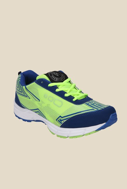 Yepme Green & Navy Running Shoes