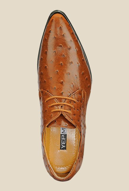 Yepme Brown Derby Formal Shoes