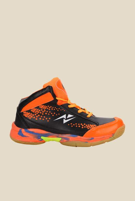 Yepme Orange & Black Running Shoes