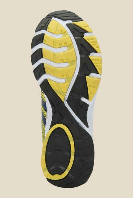 Yepme Yellow & Black Running Shoes