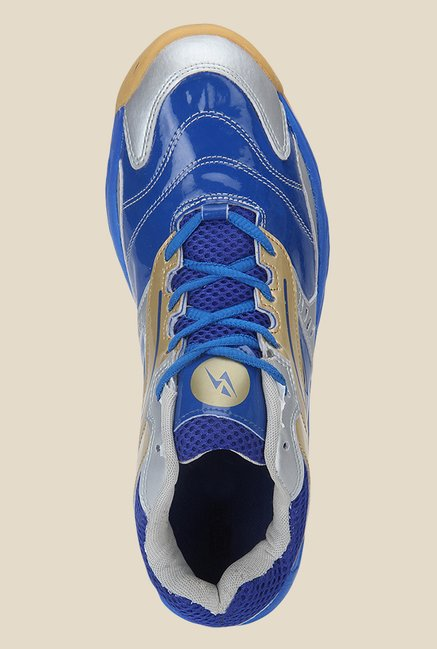 Yepme Blue & Silver Running Shoes