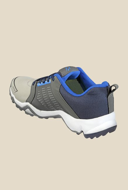 Yepme Grey & Navy Running Shoes