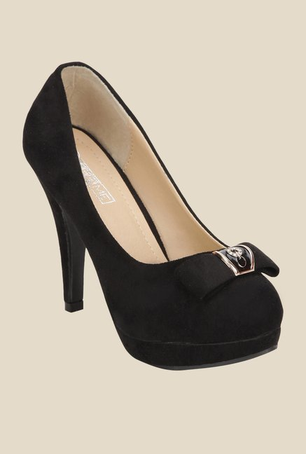 Yepme Black Stiletto Pumps