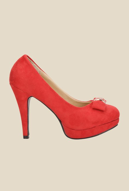 Yepme Red Stiletto Pumps