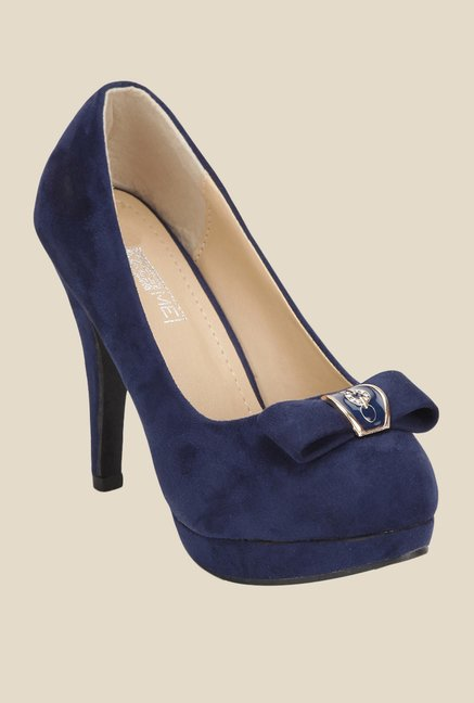 Yepme Navy Stiletto Pumps