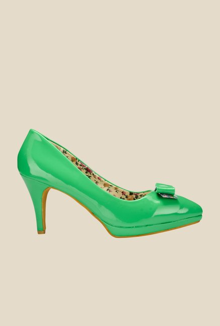 Yepme Green Stiletto Pumps