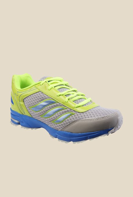 Yepme Green & Grey Running Shoes