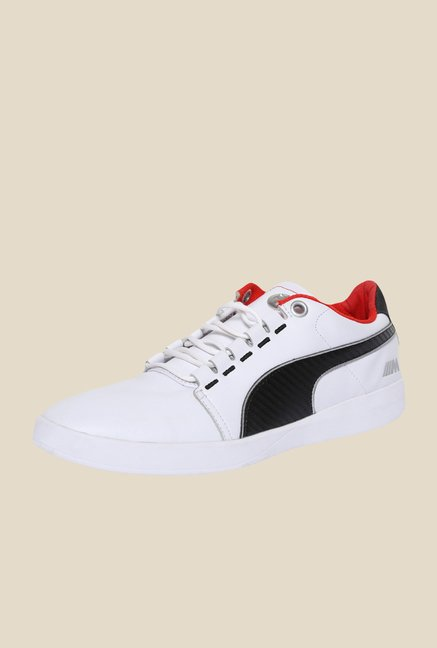 Puma BMW M Grille LO White & Black Sneakers
