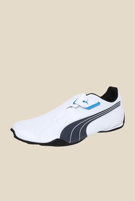 Puma Redon Move White & Dark Shadow Sneakers