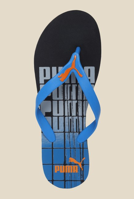 Puma Grant DP French Blue & Quarry Flip Flops