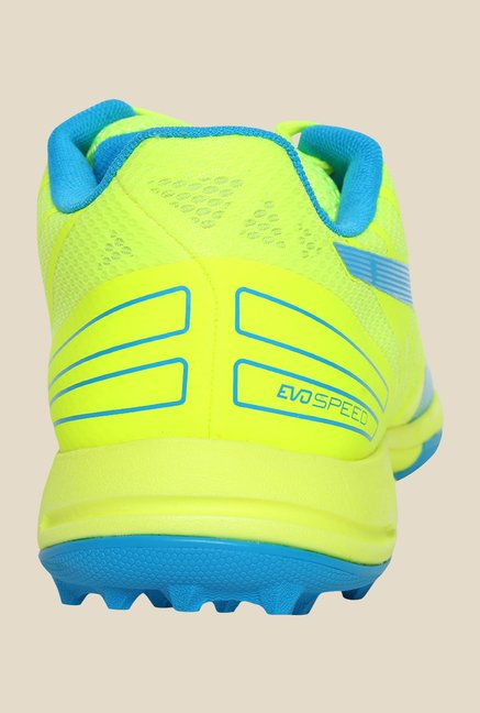 Puma evoSPEED 3.4 FH Safety Yellow & Blue Football Shoes