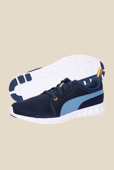 Puma Carson Runner DP Navy Wing Teal Running Shoes
