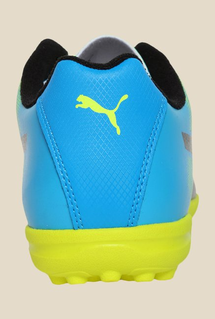 Puma Adreno II TT Safety Yellow & Black Football Shoes
