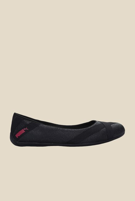 Puma Donnie Dazz DP Black Ballerinas