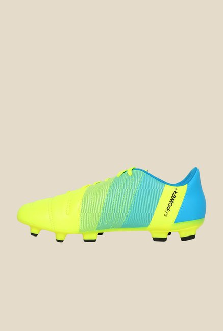 Puma evoPOWER 4.3 FG Safety Yellow & Black Football Shoes