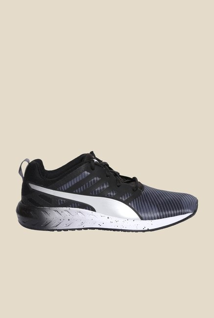 Puma Flare Graphic Wns Black & Silver Running Shoes