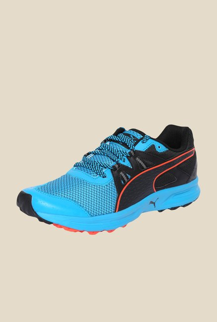 Puma Descendant TR Atomic Blue & Black Running Shoes