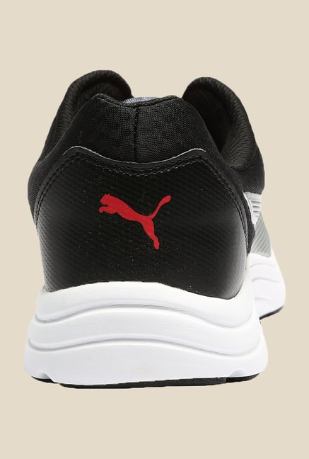 Puma Expedite Wns DP Black & Periscope Running Shoes