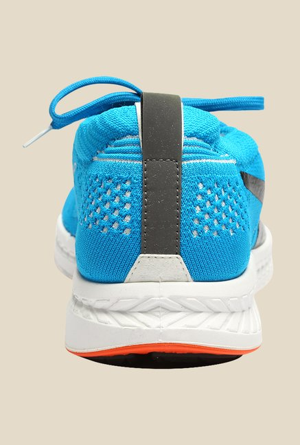 Puma Ignite ProKnit Atomic Blue & Black Running Shoes