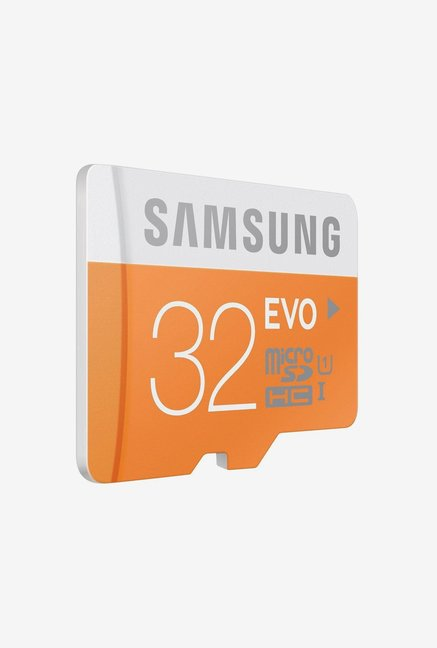 Samsung EVO 32 GB Class 10 Micro SDHC Memory Card (Orange)