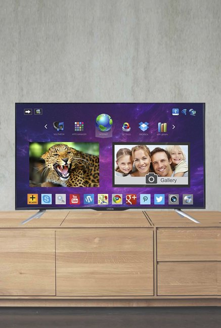Onida LEO43FAIN 109 Cm (43 Inch) Smart LED TV (Black)
