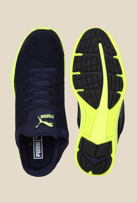 Puma Ignite Sock Peacoat & Navy Sneakers
