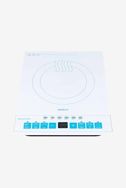 Havells Easy Cook 1700 W Induction Cooktop (White)
