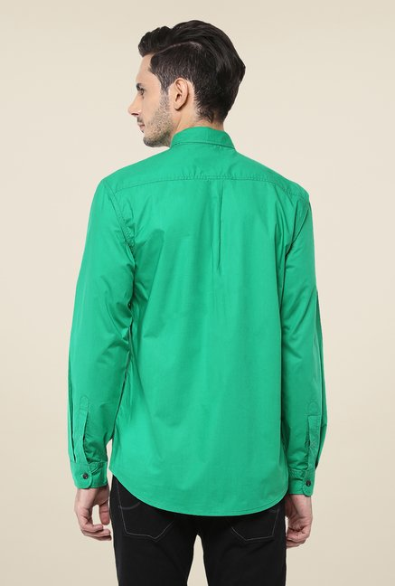 Yepme Green Parkinn Premium Shirt