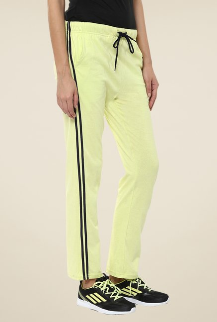 Yepme Yellow Leanne Solid Track pants