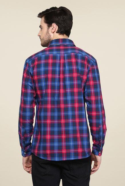 Yepme Multicolor Warner Premium Checks Cotton Shirt