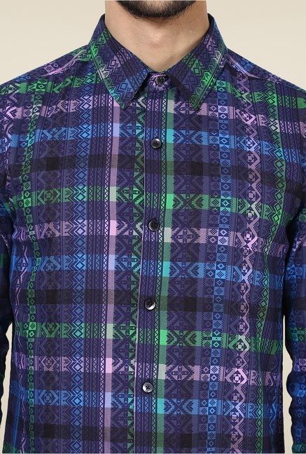 Yepme Multicolor Davin Party Shirt