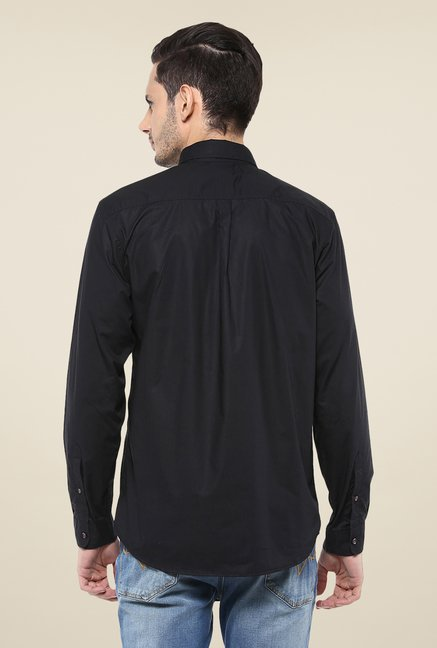 Yepme Black Parkinn Premium Shirt