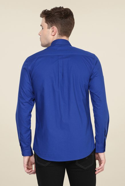 Yepme Blue Parkinn Premium Shirt
