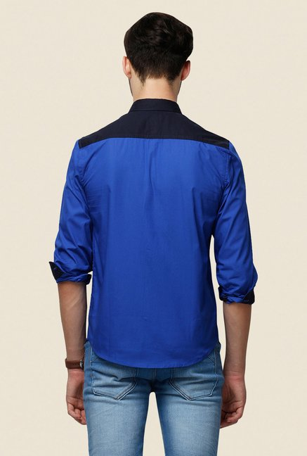 Yepme Blue Ashten Premium Shirt