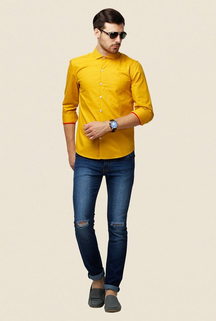 Yepme Yellow Erin Premium Shirt