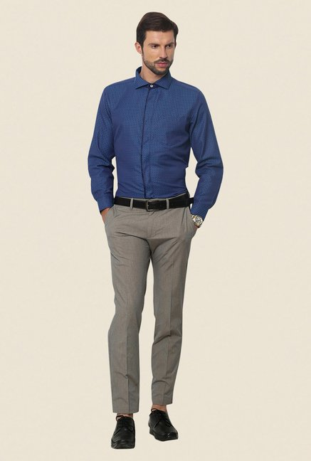 Yepme Blue Scanton Premium Shirt