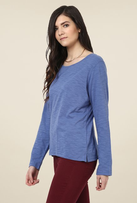 Yepme Rosa Blue Solid Top