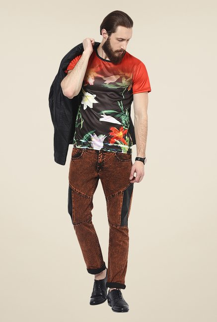 Yepme Multicolor Printed T Shirt