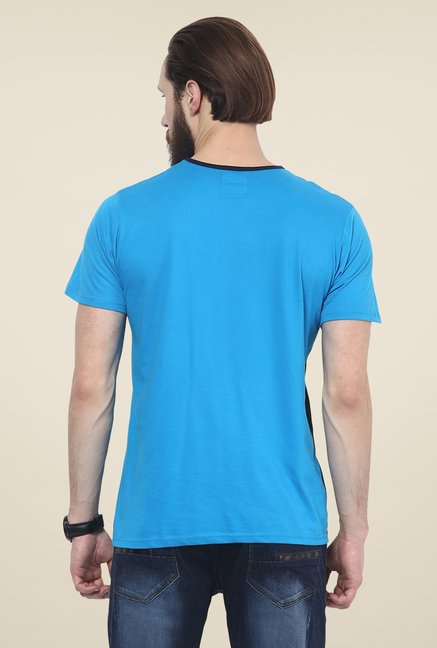Yepme Blue Corin Solid T Shirt